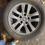 Колёса литые с зимней резины для бмв3. Фото 3.