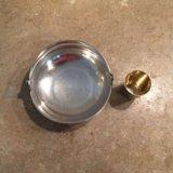 Мельхиоровая вазочка. Фото 2.