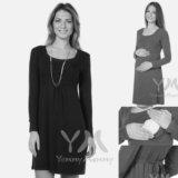 Новое платье для беременных и кормящих. Фото 1.