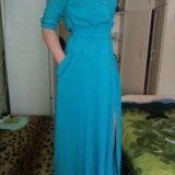 Платье с разрезом. Фото 1. Пенза.