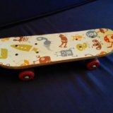Скейт детский+самокат 3-4 года. Фото 1.