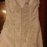 Свадебное платье 44-46. Фото 2.