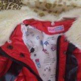 Куртка детская на девочку. Фото 1.
