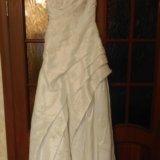 Свадебное платье 44-46. Фото 1.