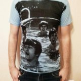 Новая футболка с битлами. Фото 1. Новороссийск.