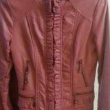 Куртка. натуральная кожа. Фото 1. Омск.