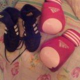 Перчатки с печатью aiba adidas. Фото 1.