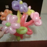 Букетик из 5 шаров. Фото 1. Когалым.