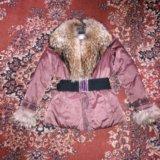 Пуховик baon,отделка натуральный мех. Фото 1. Москва.