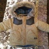 Осенняя куртка zara для мальчика. Фото 1.