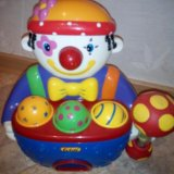 Музыкальный сортер клоун. Фото 1. Новосибирск.