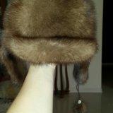Норковая шапка.. Фото 2.