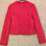Замшевая куртка zipcode. Фото 1.