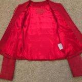 Замшевая куртка zipcode. Фото 2.