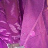 Яркое пальто (кашемир). Фото 3.