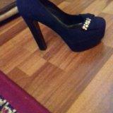 Туфли замшевые. Фото 1.