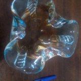Пепельница из стекла. Фото 1. Невинномысск.