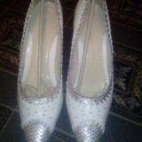 Продам свадебные туфли.. Фото 1. Комсомольск-на-Амуре.