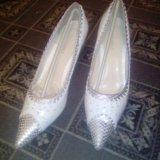 Продам свадебные туфли.. Фото 3.