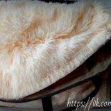 Плюшевый плед нежный персик. Фото 1. Нижневартовск.