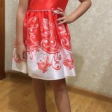 Новое платье детское. Фото 1.