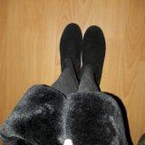 Сапоги ботфорты. Фото 1.