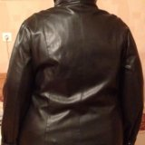 Куртка кожзам 62 размер. Фото 1.