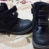 Ботинки осень теплые размер 34.состояние хорошее. Фото 2. Волгодонск.