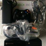 Xbox 360 e 250gb freeboot dual nand lt 3.0 +24игры. Фото 1.