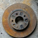 Mazda 6 gh 08-12г диск тормозной передний. Фото 1.