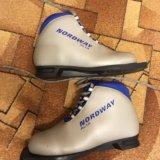 Детские лыжные ботинки. Фото 1. Балашиха.