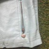 Куртка кожзам для девочки. Фото 2.