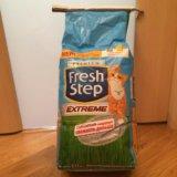 Наполнитель для кошачьего туалета fresh step. Фото 1.