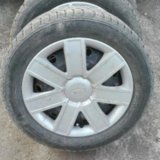Gislaved nord frost 5 195/55 r15 + диски lacetti. Фото 3.