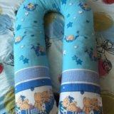 Подушка u для беременных и кормления подкова. Фото 1.