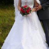 Свадебное платье американка. Фото 2. Москва.