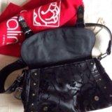 Продаю новую чёрную сумку braccialini. Фото 2. Москва.