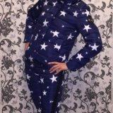 Зимний костюм со звёздами. Фото 2.