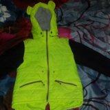 Куртка 134 рост. Фото 1.