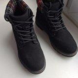 Тёплые осенние ботинки, типо тимбов👞. Фото 1.