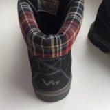 Тёплые осенние ботинки, типо тимбов👞. Фото 2.