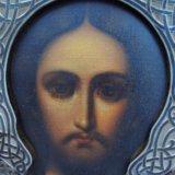 Икона серебро 84 господь вседержитель 27х22. Фото 2.