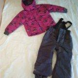 Зимний костюм ketch р.104-110. Фото 1.