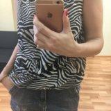 Новая блузка h&m с принтом зебра. Фото 3.