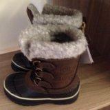 Новые детские зимние ботинки. Фото 4.