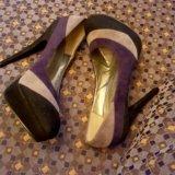 Туфли замша р. 37. Фото 1. Дубна.