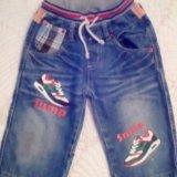 Продаются шорты джинс и футболка - 2 шт. Фото 1.