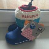 Сапожки крокс с7. Фото 1. Москва.
