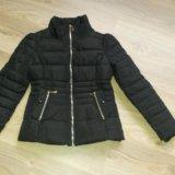 Новая утепленная куртка на рост 150-155. Фото 1.