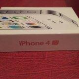 Коробка от айфона 4s. Фото 1.